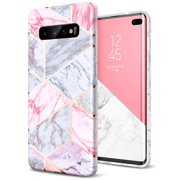 ELV Galaxy S10+ Plus case 6.4 inch, Ultra Thin Slim Fit Soft TPU Case Cover for Samsung Galaxy S10 Plus (NOT for S10 OR S10E)