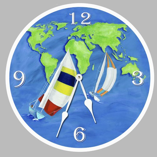 Lexington Studios 10'' Summer Sail Wall Clock by