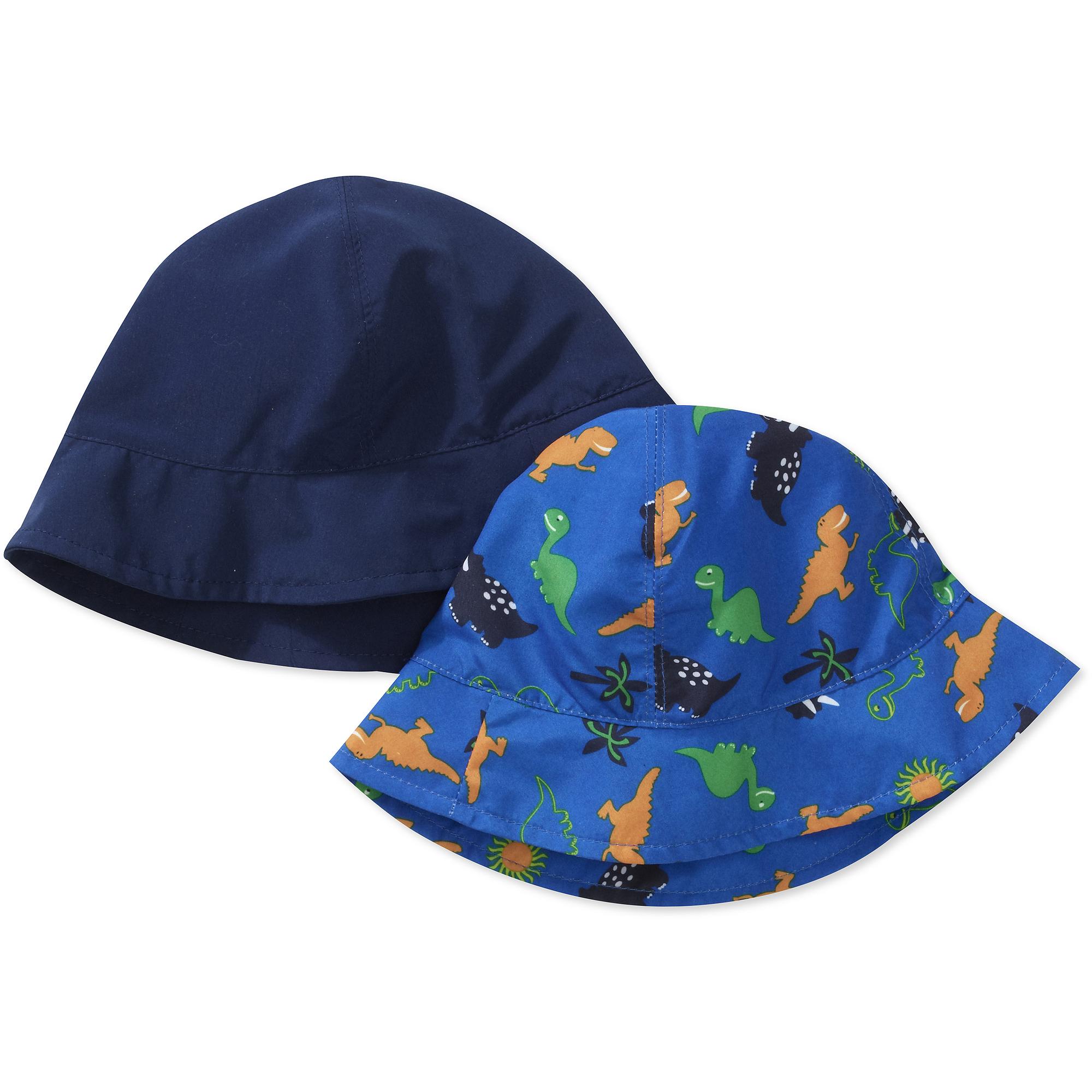Healthtex Baby Boy's 2 Pack Swim Bucket Hats