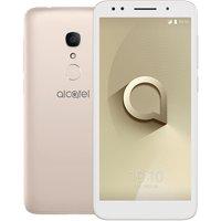 "Alcatel 1X Unlocked Smartphone - 5.3"" 18:9 Display, Android Oreo (Go Edition), 8MP Rear Camera, 4G LTE -International Version (Gold)"
