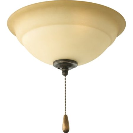 Torino Collection Three-Light Ceiling Fan Light