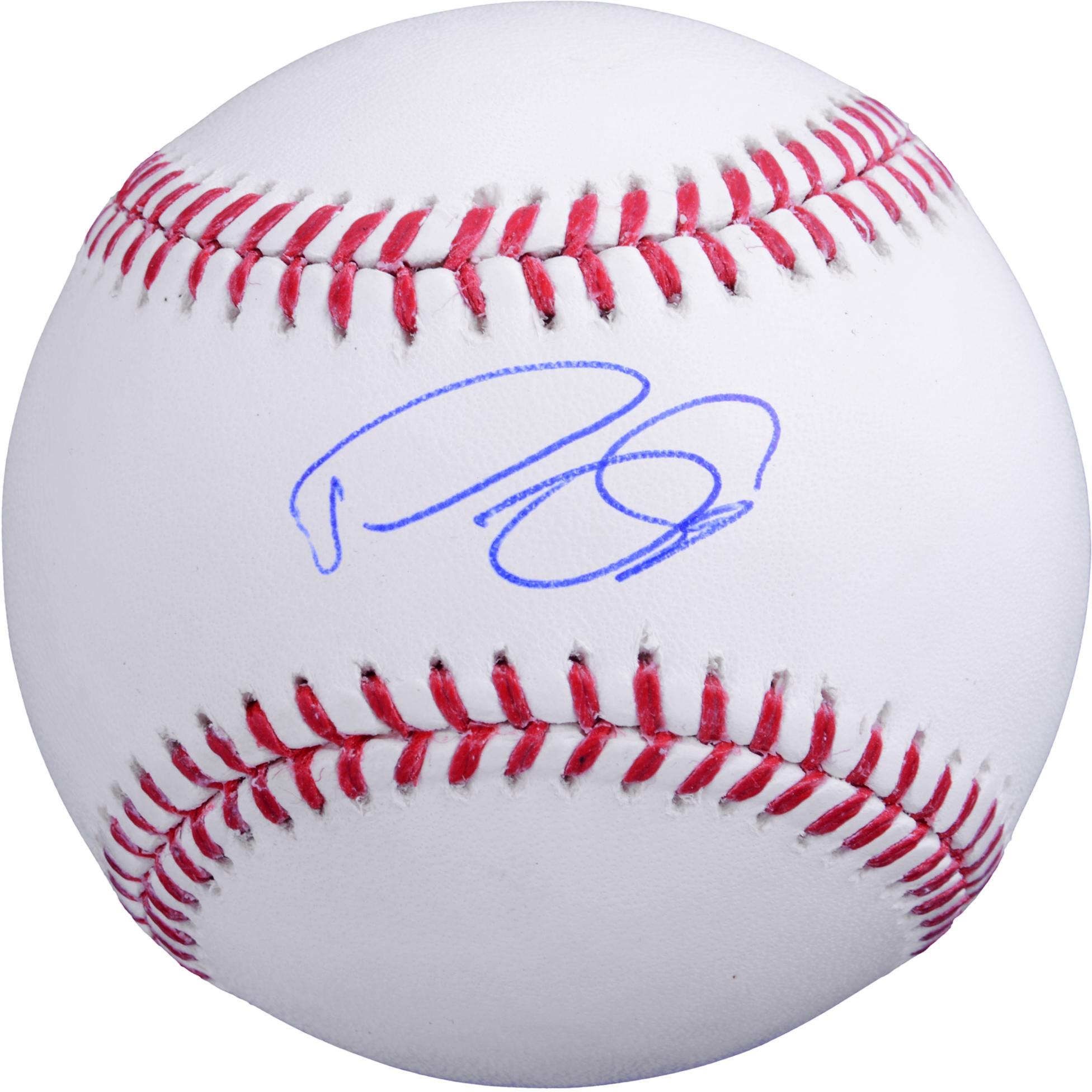Domingo Santana Houston Astros Autographed Baseball