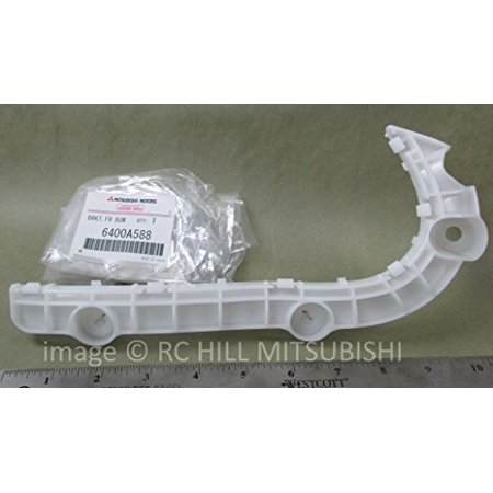 6400A588 GENUINE MITSUBISHI OEM FACTORY ORIGINAL FULL SIZE OUTLANDER BRACKET FRONT RIGHT PASSENGER BUMPER SIDE PLEASE SEND VIN# TO VERIFY ITEM APPLIES TO YOUR VEHICLE