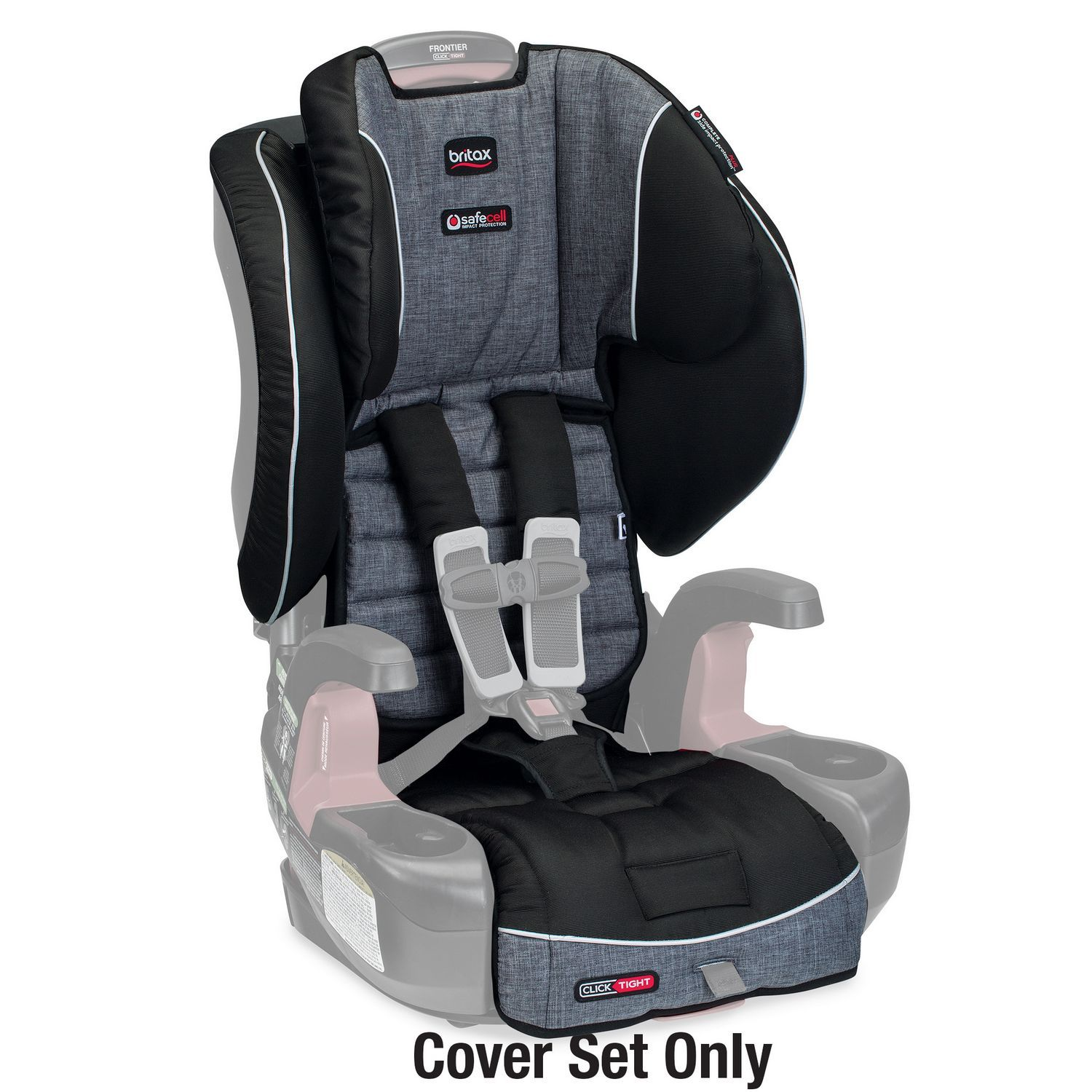 Britax Frontier Click Tight Harness-2-booster Cover Set - Vibe