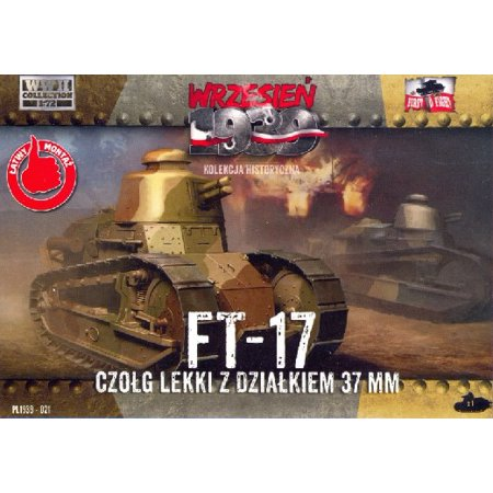 1/72 FT17 Light Tank w/Round Turret & 37mm Gun - image 1 de 1
