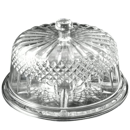 The Gibson Home Jewelite Multifunction Cake with Plate Dome ()