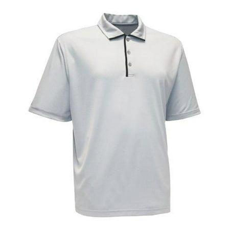 Antigua Men's Court Short Sleeve Athletic Golf Polo Shirt - Multiple Colors - Golf Greens Standard Wall