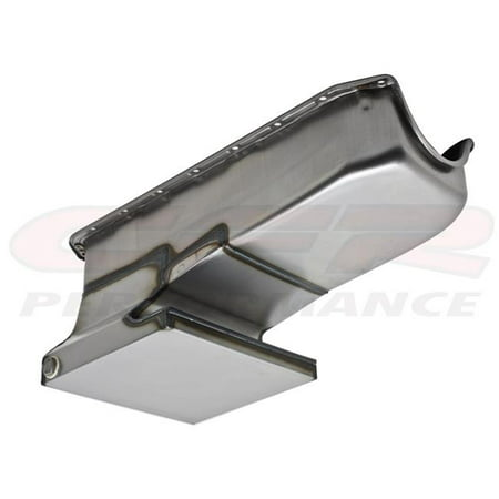 (CFR HZ-7480-R 1962-67 Chevy II & Nova 1958-79 Small Block 283-305-327-350-400 Drag Racing Oil Pan - Raw)
