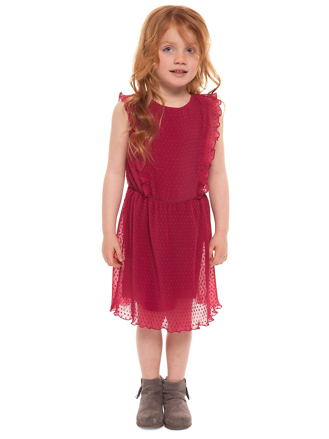 Little Girl's Ruffle Tulle Dress