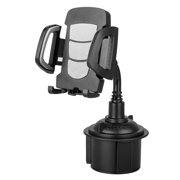 Car Cup Phone Holder, EEEkit Universal 360° Adjustable Car Gooseneck Cup Holder Stand Cradle Mount For Samsung Galaxy S20 Ultra S10 S10E, iPhone 12 Pro Max/SE/11/11 Pro XS XR XS Max X and More