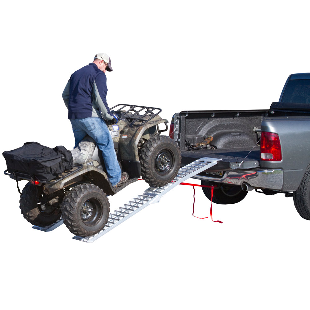 "Rage Powersports 89"" Arched Folding Loading Ramps for ATV..."
