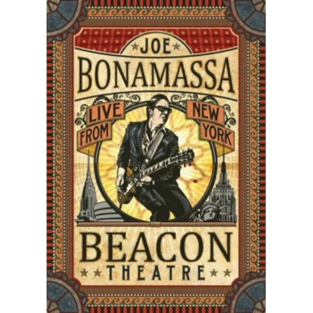 BONAMASSA J-BEACON THEATRE-LIVE FROM NEW YORK (DVD) (DVD) (John Hiatt)