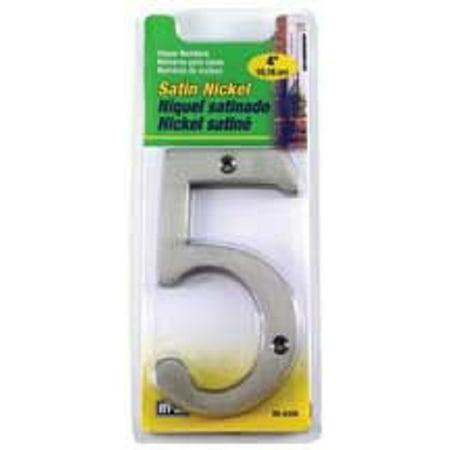 5 4 Inch Satin Nickel Number