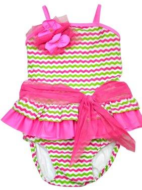 d4780ee29317e Product Image Isobella and Chloe Little Girls Paradise Cove Tankini 4T