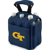 Picnic Time 608-00-138-244-0 University of Kansas Jayhawks Digital Print Beverage Cooler Tote Bag, Navy