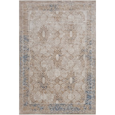 Updated Traditional DUR1007-5373 Area Rug Rectangle 5'3