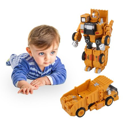 909e8f23173 Dumper Vehicle Car Toys Kids Transforming Robot Transformation Toys ...