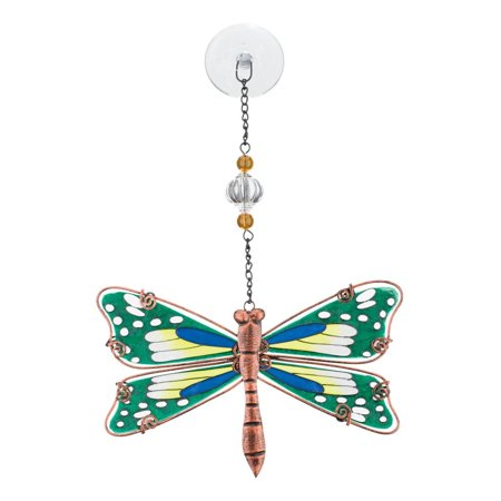 Regal Art  and  Gift 11559 - Green Dragonfly Sun Catcher Decor (Sun Catcher - Dragonfly - Dragonflies Gifts