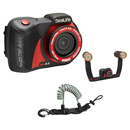 SeaLife Micro 2.0 16mp WiFi Underwater Camera 32GB w  Sea Dragon Duo 3000F Se... by SeaLife