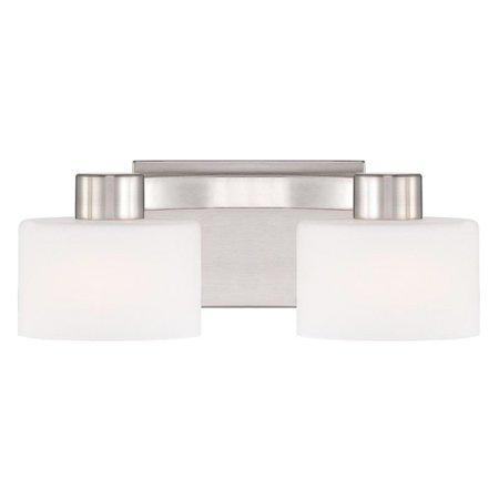 - Quoizel Tatum TU8602BN Bathroom Vanity Light - Polished Nickel