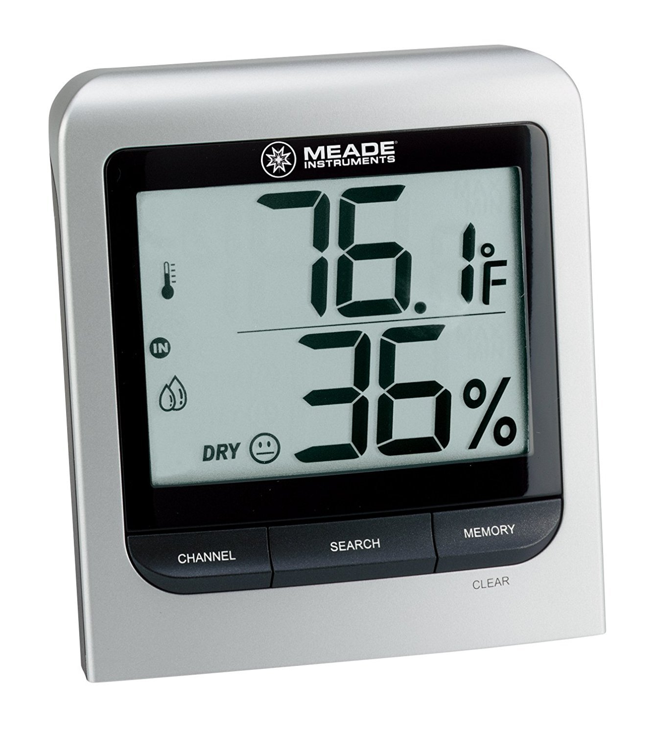 Digital Thermometer Outdoor, Meade Tm005x-m Hygrometer Digital Thermometer Indoor