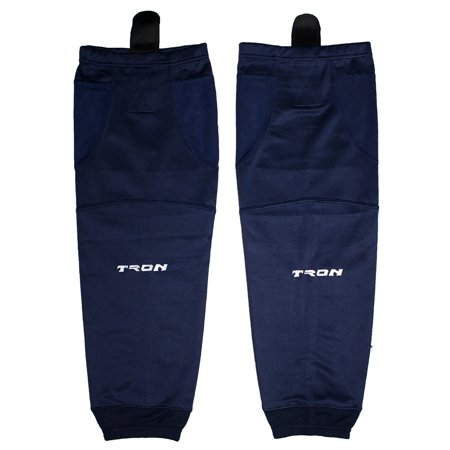Tron SK100 Dry Fit Ice Hockey Socks (Navy) - Use Dry Ice Halloween Punch