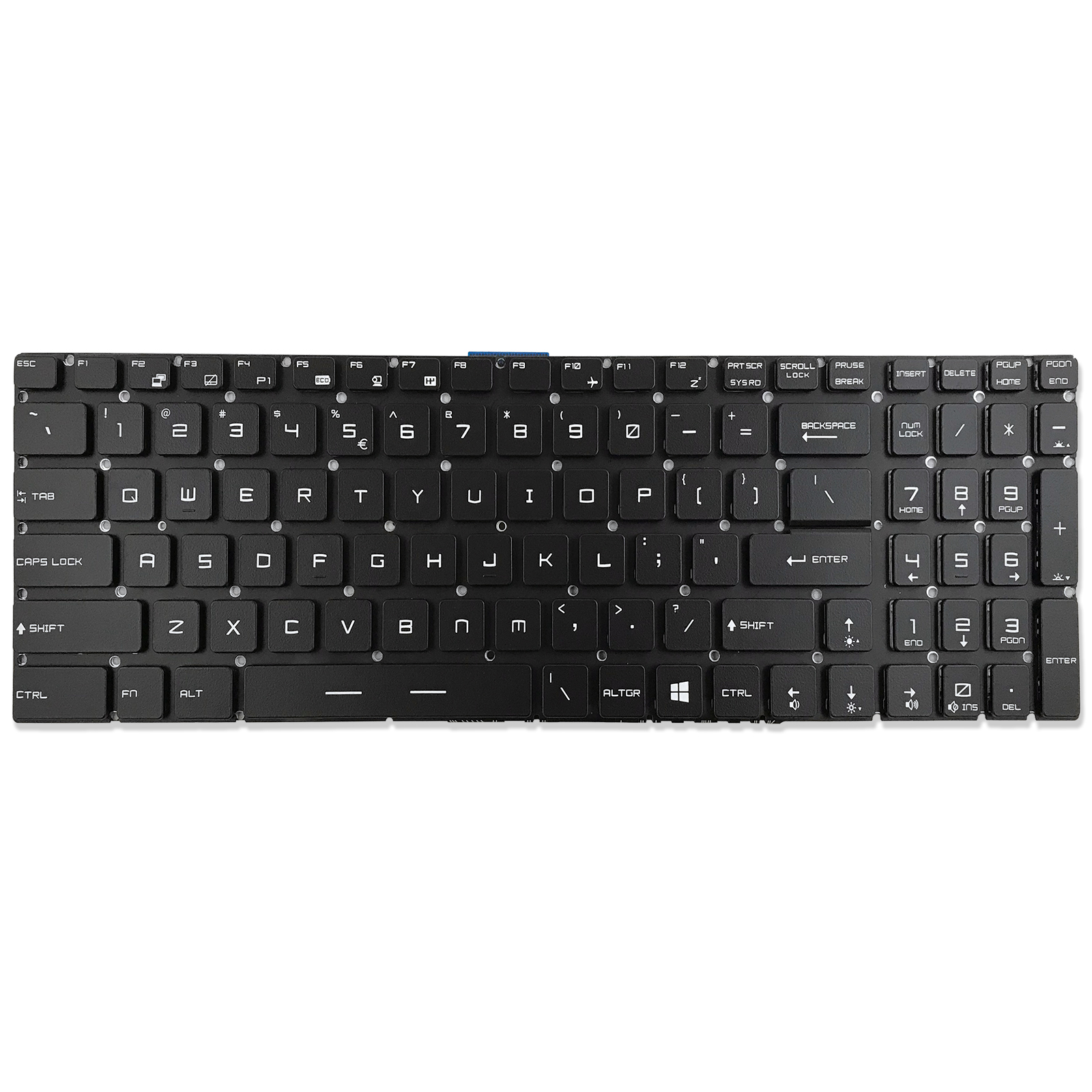 New MSI Steel Series GE62 GE72 GT72 GS60 GS70 MS-1781 MS-16J1 MS-16J2 Gaming Laptop US Keyboard Full RGB Backlit Crystal Keys