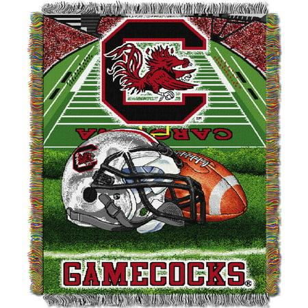 South Carolina Gamecocks The Northwest Company 48'' x 60'' Home Advantage Woven Throw - No Size ()