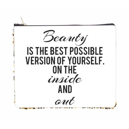 Beauty is the Best Possible Version of Yourself Inside and Out - 2 Sided 6.5