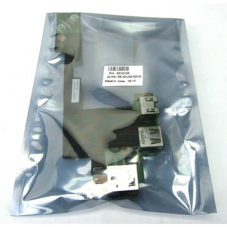 New Genuine Lenovo Thinkpad T510 W510 T510 USB LAN Ethernet Port Board 63Y2125