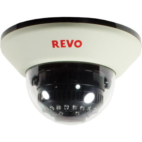 Revo America 1200TVL Indoor Dome Surveillance Camera with 100' Night Vision