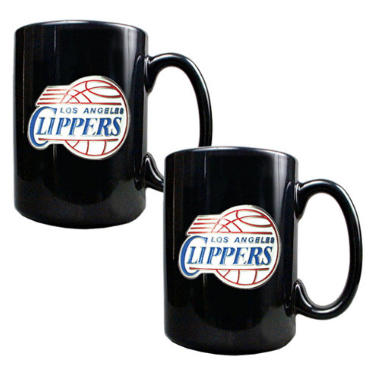 Great American NBA Black Logo Ceramic Mug Set