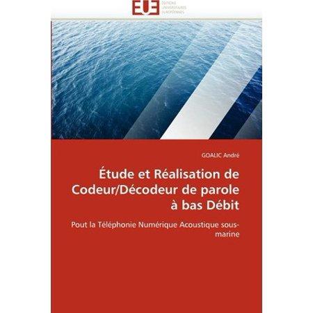 Etude Et Realisation de Codeur/Decodeur de Parole a Bas Debit - image 1 of 1