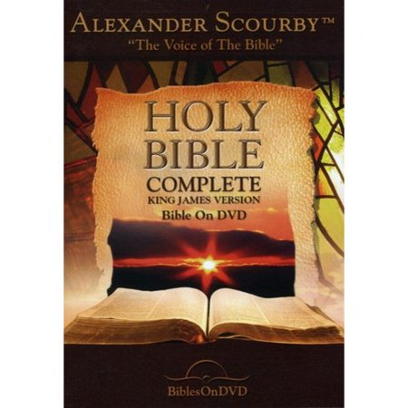 Holy Bible Complete King James Version Bible On Dvd Narrated By