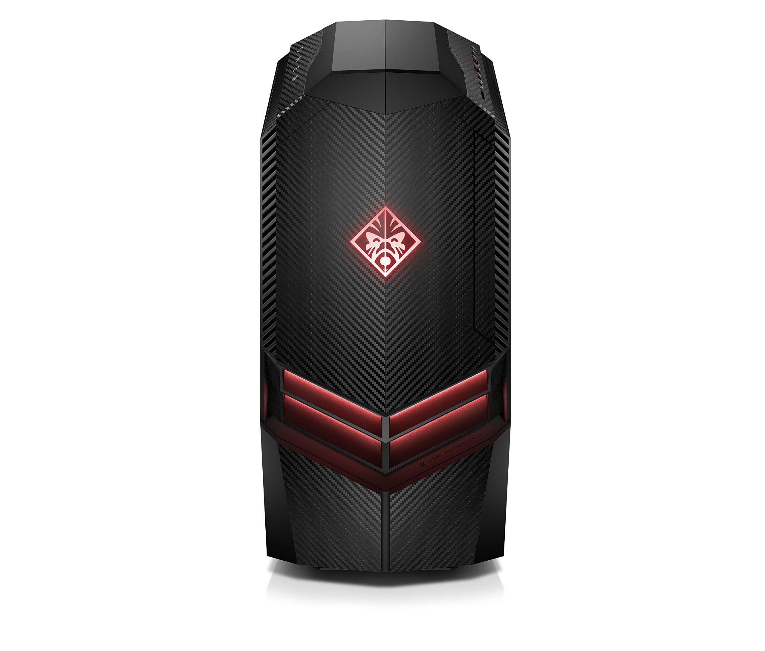 HP Omen Desktop, AMD Ryzen 7 1800x, 3.6GHZ, NVIDIA GeForce GTX 1080 8GB GDDR5X Graphic Card, 16GB DDR4 Memory,... by HP