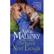 Avon Historical Romance: One Night Is Never Enough (Paperback)