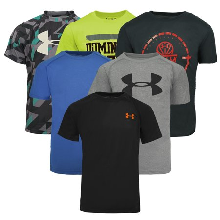 Under Armour Coldgear Mock - Under Armour Boys' Mystery T-Shirt 3-Pack