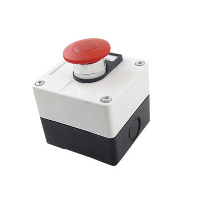 Red 10 Switch Box - Momentary Switch Red Push Button Station Control Box 660V