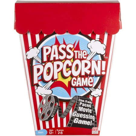 Pass the Popcorn Movie Trivia Game for 2-8 Players Ages 12Y+](Halloween Trivia Adults)