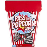 Pass the Popcorn Movie Trivia Game for 2-8 Players Ages 12Y+