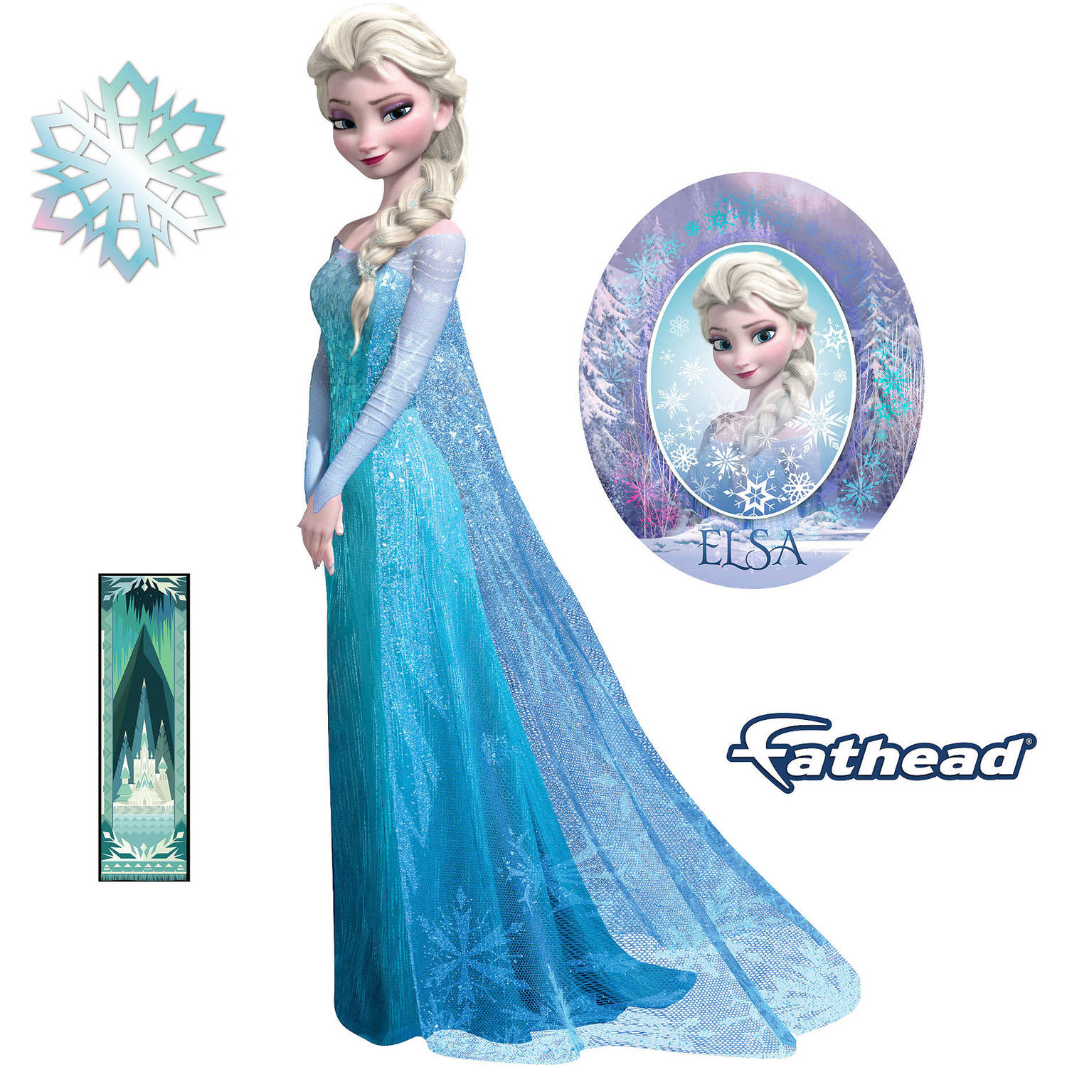 Disney Frozen Elsa Teammate Player Retail 6-Pack 89-01850