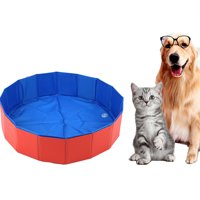 Foldable Pet Bath Pool Collapsible Dog Pool Pet Bathing Tub Pool for Dogs Cats