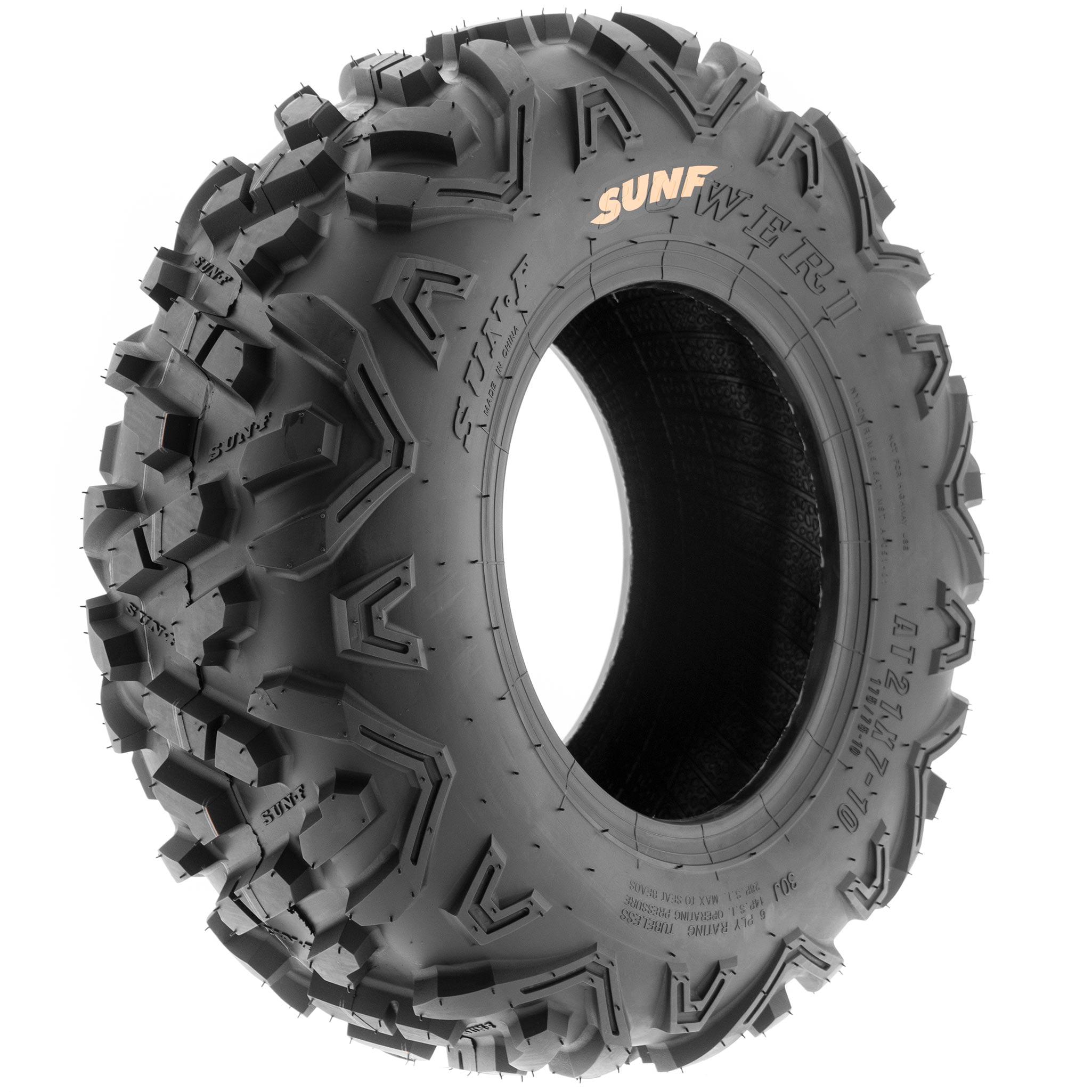 Pair of 2 SunF Power.II AT 16x8-7 ATV /& Go-Kart Off-Road Tires All-Terrain 6 PR Tubeless A051