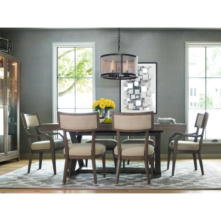 Phenomenal Rachael Ray Highline By Legacy Classic 84 In Complete Rectangular Trestle Dining Table Bralicious Painted Fabric Chair Ideas Braliciousco