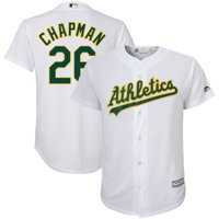 a82e9945171 Product Image Matt Chapman Oakland Athletics Majestic Youth Home Official  Team Cool Base Player Jersey - White