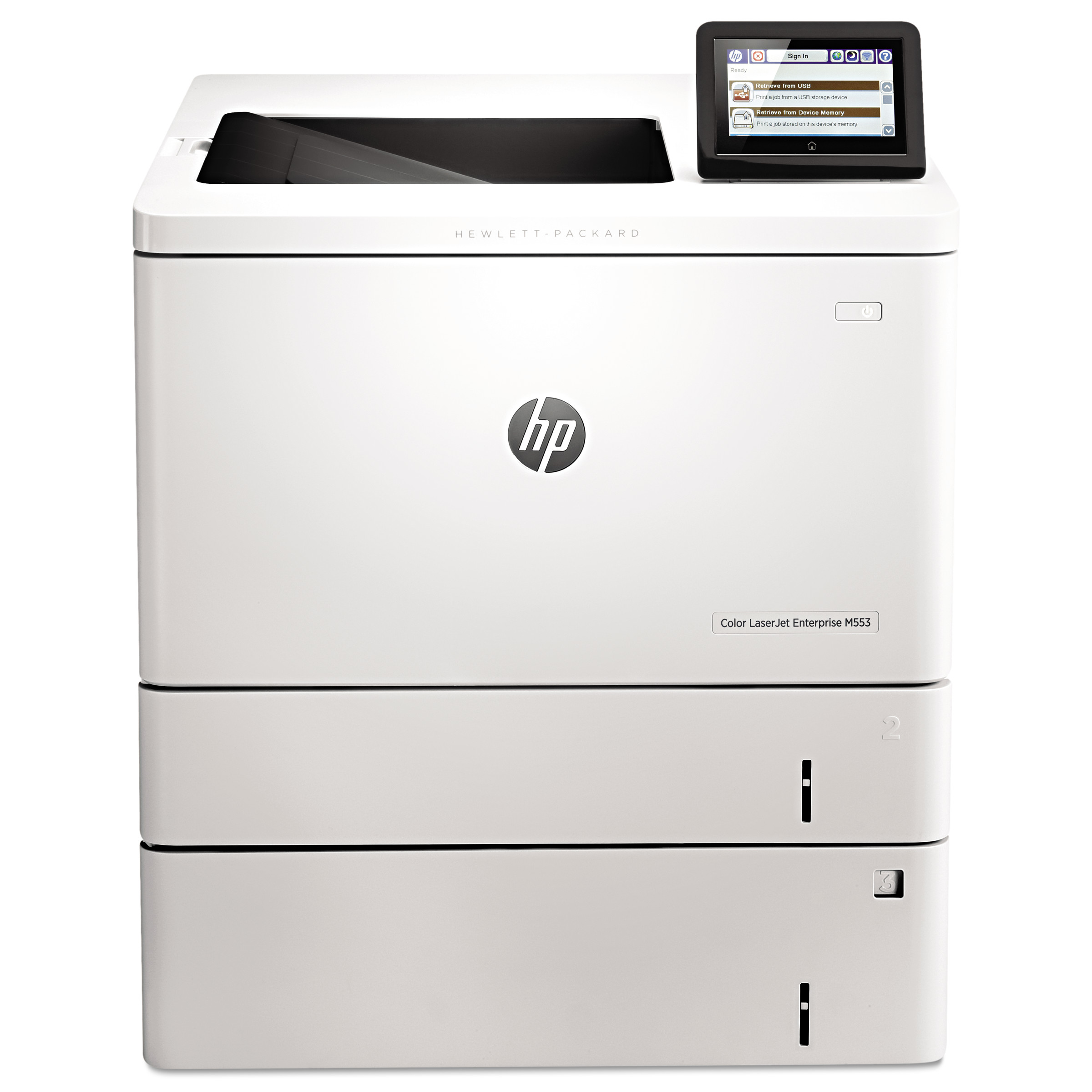 HP Color LaserJet Enterprise M553X Laser Printer by HP