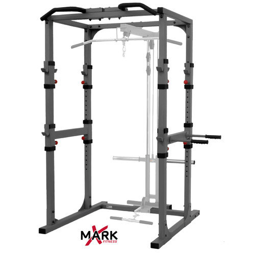 X-Mark Commercial Power Rack with Pull Up Bar