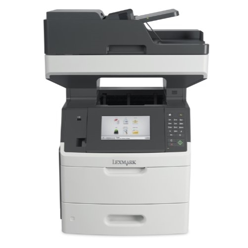Lexmark MX710DE Monochrome Printer with Scanner, Copier and Fax 24T7401 (Factory Refurb) by Lexmark