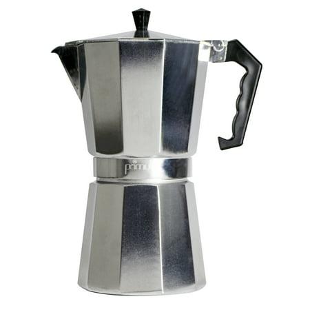Primula Aluminum 9 Cup Stovetop Espresso Maker - Polished
