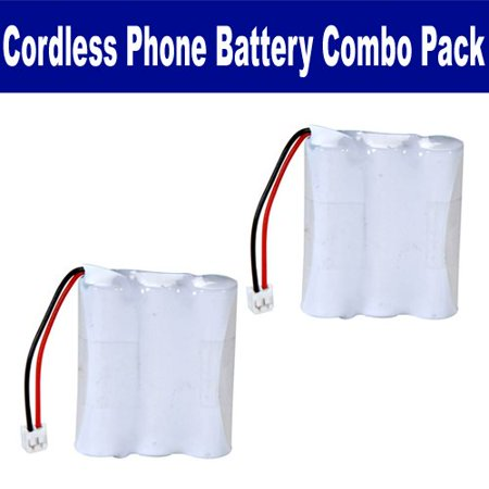 Hqrp phone battery compatible with vtech 2465, 9109, ia5845.